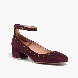 Madewell Inez Ankle-Strap Heel